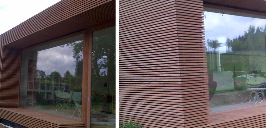 Schrijnwerkerij van tendeloo interieur bouw buitenschrijnwerk ramen en deuren maatwerk - Interieur gevelbekleding houten ...